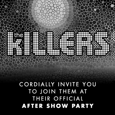 The Killers Aftershow Party